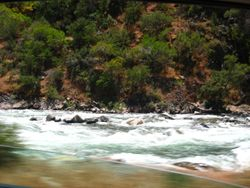 Mighty King River, King's Canyon