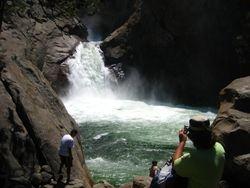 King River Waterfall - King's Canyon