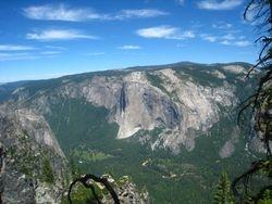 El Capitan as seen from Taft Point - Merced River - Yosemite National Park