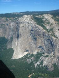 El Capital as seen from Taft Point - Yosemite National Park