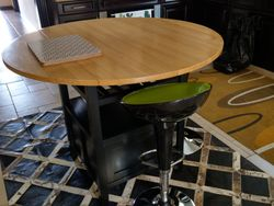 Folding Kitchen table - Crate and Barrel