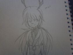 lazily drawn blurry 14 yr old mai