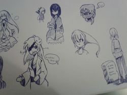 moar sketches