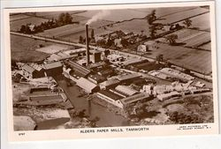 Alders Paper Mill from above.