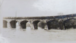 The Arches in flood