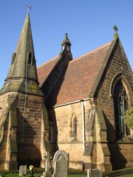 St. Pauls, Dosthill - Spire and Chancel