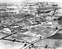 Aerial view of Dosthill