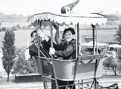 'Aerial way' in May, 1964.