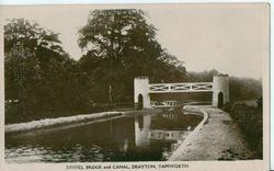Fazeley Swing Bridge.