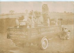 Gibbs and Canning Lorry.