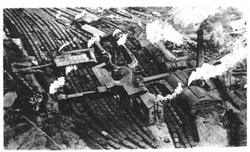 Kingsbury Colliery aerial view.