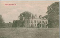 Packington Hall.