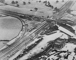 Aerial photograph.