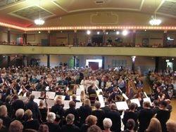 Choir's eye view