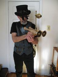 Ray Of Creation Double Barrel Pistol