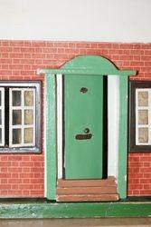 Door and frame.