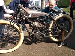 Peugot 9 cylinder radial engine