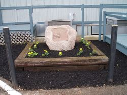 FOP Lodge 50 Memorial Rock
