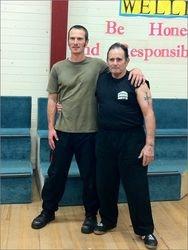 Anthony (left) and Master Beau