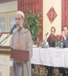 Zafar Bangash Introduces the Event.