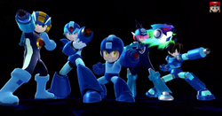 All the Mega Men