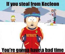 Stealing from Kecleon