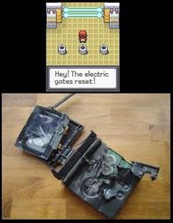 The switch reset!