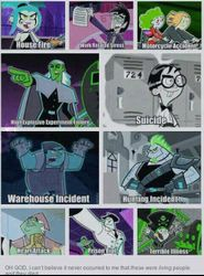 Danny Phantom's ghosts