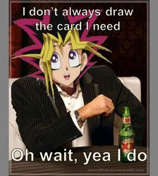 I don't always draw the card I need...