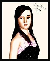 Sun Kyo in watercolor