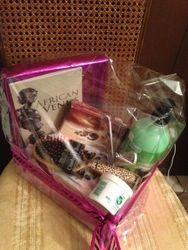African Venus Gift Basket