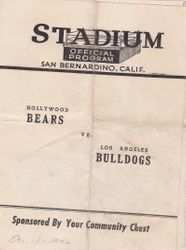 Small time program Bears vs Bulldogs