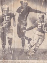 1946 Steeler vs Eagles game.