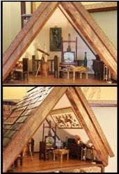 The Furniture Moves In: Attic Art Studio