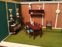 Living/Dining room, left side-closer detail
