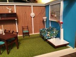 Living/Dining room, right side -closer detail