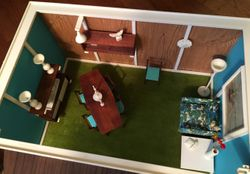 Living/Dining room, overhead