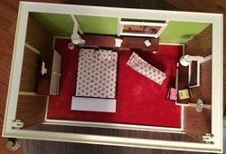 Bedroom, overhead