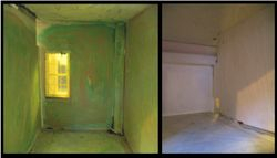 Before: Kitchen and Bathroom