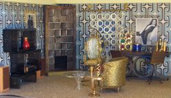 Interior design time! Bachelor living room