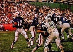Buffalo Bills QB James Harris