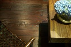 Solid Teak Hardwood Floors
