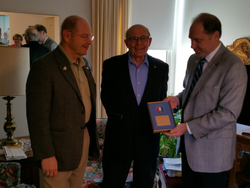 AHEPA Honor Military Award to Tom Kuzas