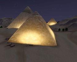 The Three Pyramids of Egypt