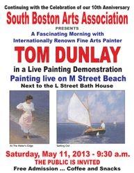 Tom Dunlay Painting Demo