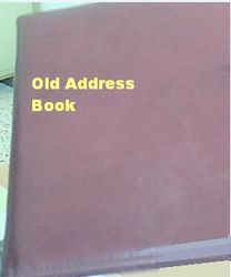 Old Address & Phone Book