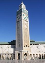 Hassan II Mosque, The Minaret, Casablanca
