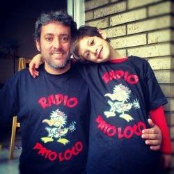 Sergio y su hijo ..