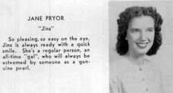 1947, Jane Pryor