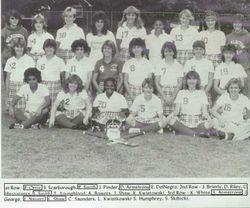 1986 Field Hockey